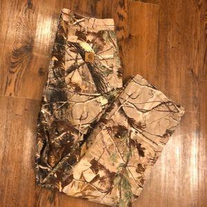 Carhartt real tree camo pants